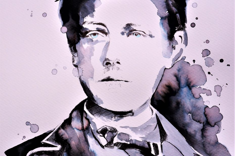 """Foto: Federica Masini: """"Portrait von Arthur Rimbaud"""""""